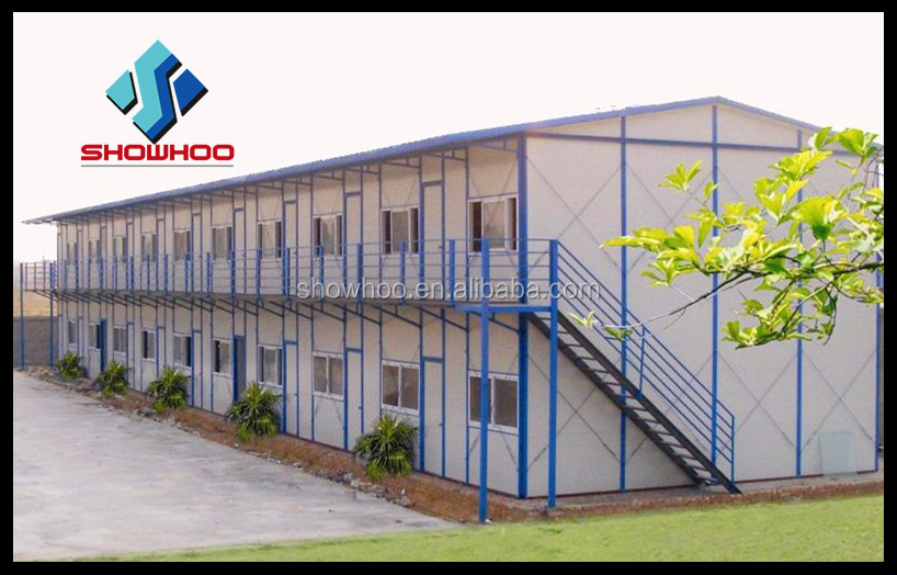 Economical Steel Structure Sandwich Panel Small Prefab Houses