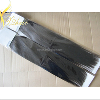 Wholesale Factory cheap price Grade AAAA silky straight flat tip brazilian human hair product