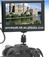 7 Inch Camera Field LCD Monitor HDMI In/ Out camera video input