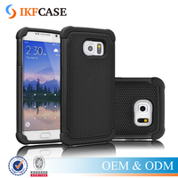 Heavy Duty Cover Shock Absorbing Case For Samsung Galaxy S6 S6 Edge S7 S7 Edge Hard Silicon Case