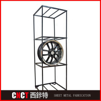 Popular Design Stainless Steel Machining Metal Laser Cutting Rotating Clothes Rack