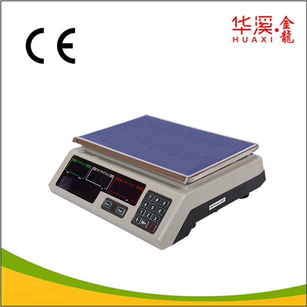 Electronic market food price computing scales weight scale digital