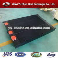 aluminum plate&bar cooler radiator spare parts for construction machinery