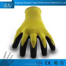 industry knit household rubber glove dipped latex