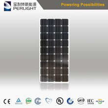 2017 hot new products solar panel monocristalline of CE Standard