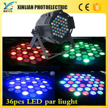cheap led par light 36x3w rgb led mini flat par can led par 36 light