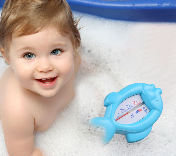 New Design Fish Shape BPA Free Baby Bath Thermometer