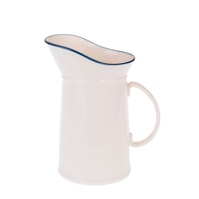 Family tableware ceramic milk jug with handle for <strong>coffee</strong>