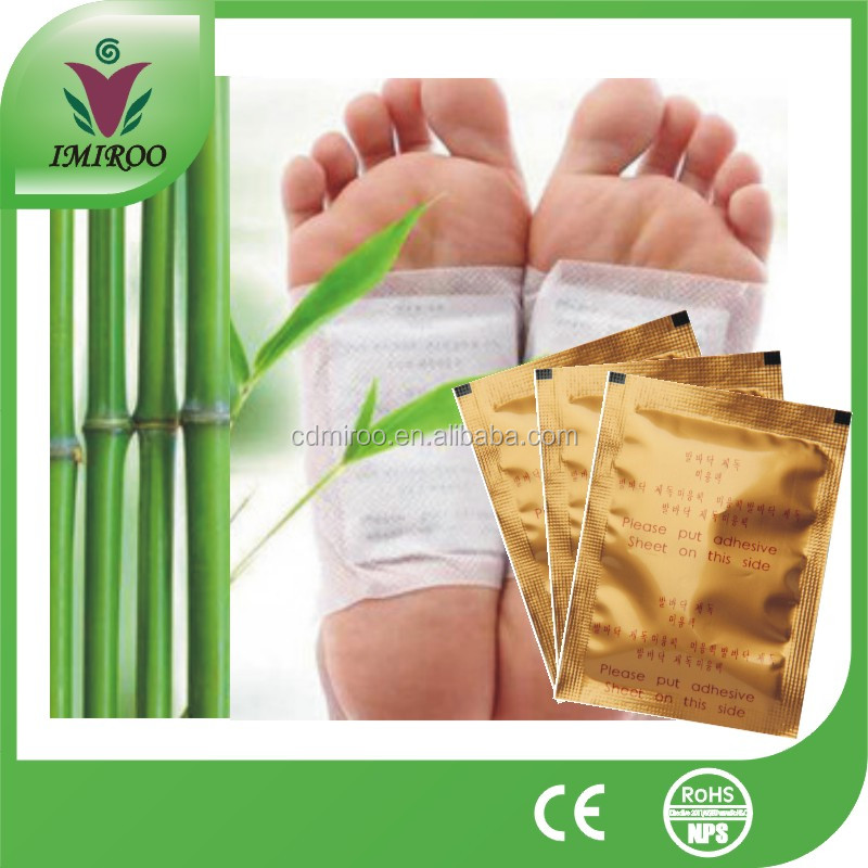 Hot products bulk sale! Bamboo vinegar detox pads foot patch, natural detox white foot patch, detox foot pads patches
