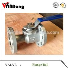1PC Flange Ball Valve Reduce Bore 150lb 300lb