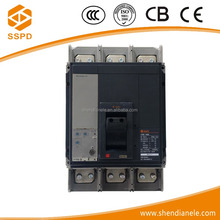 Guangzhou Wenzhou famous brand ns type thermal mccb 30a 60a 100a 160a 250a 400a 630a 800a 3p 1000a circuit breaker molded case