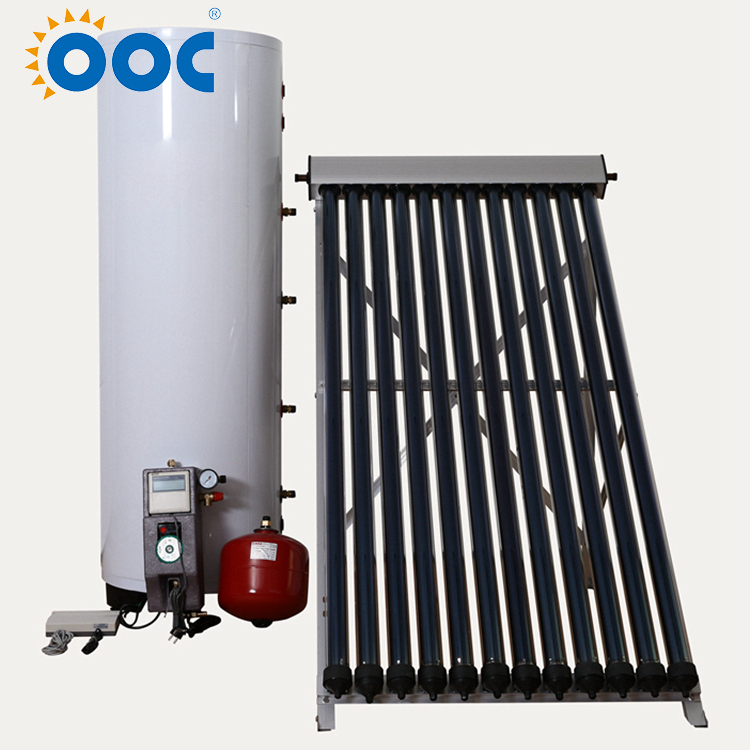 Intelligent Controller China Supplier Thermosyphon Home System Heat Pipe Solar Water Heater