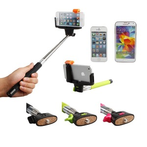 New z07-5 v2 Wireless Built-in Bluetooth Selfie Stick for Cellphone Camera