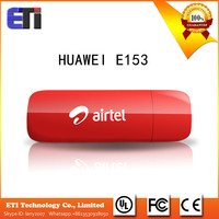 Unlocked NEW Huawei E153 3.6Mbps WCDMA UMTS HSDAP 850mhz 1900MHz Wireless Modem USB Sticker Dongle
