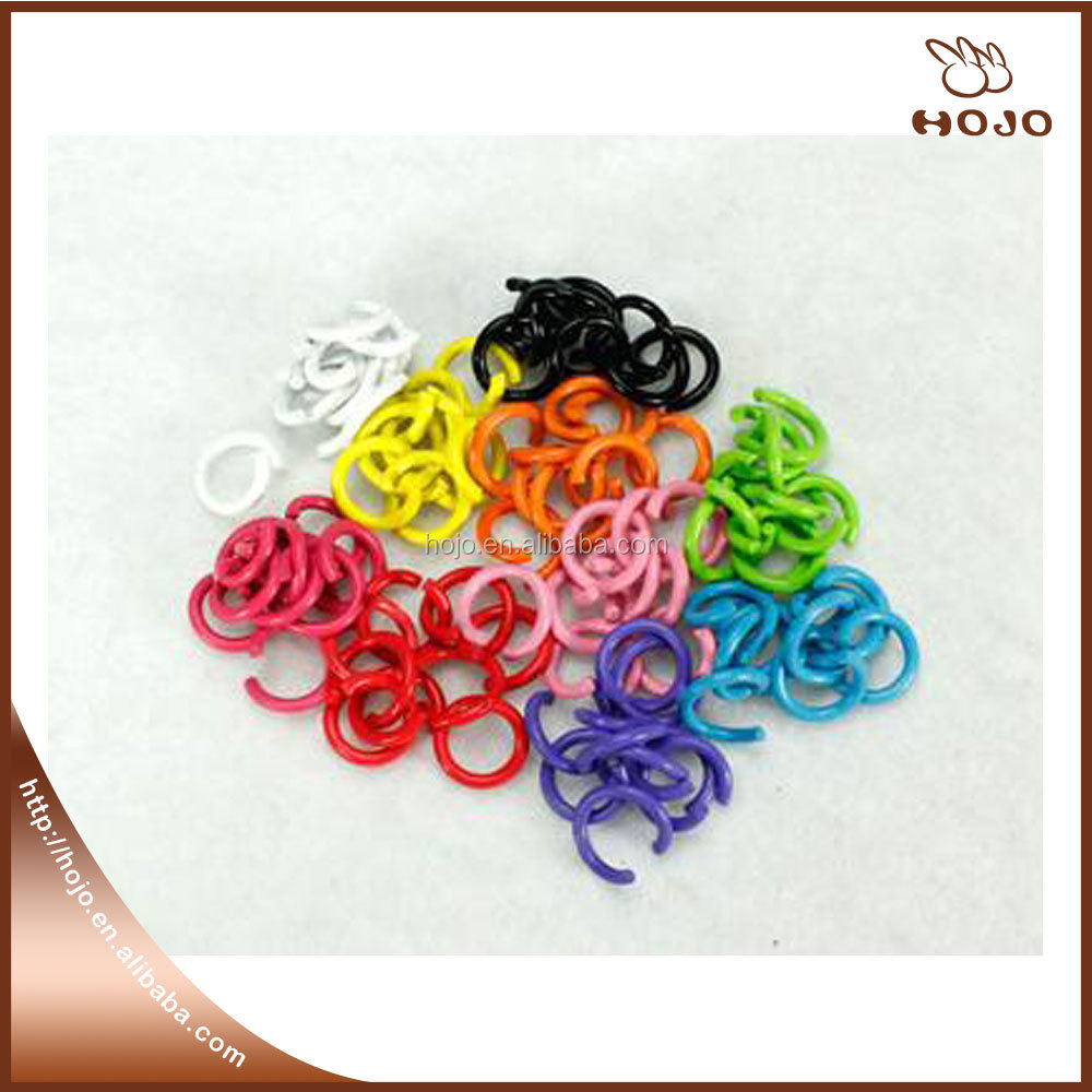 Colorful new style DIY jewelry jump rings for crafts and jewelry making