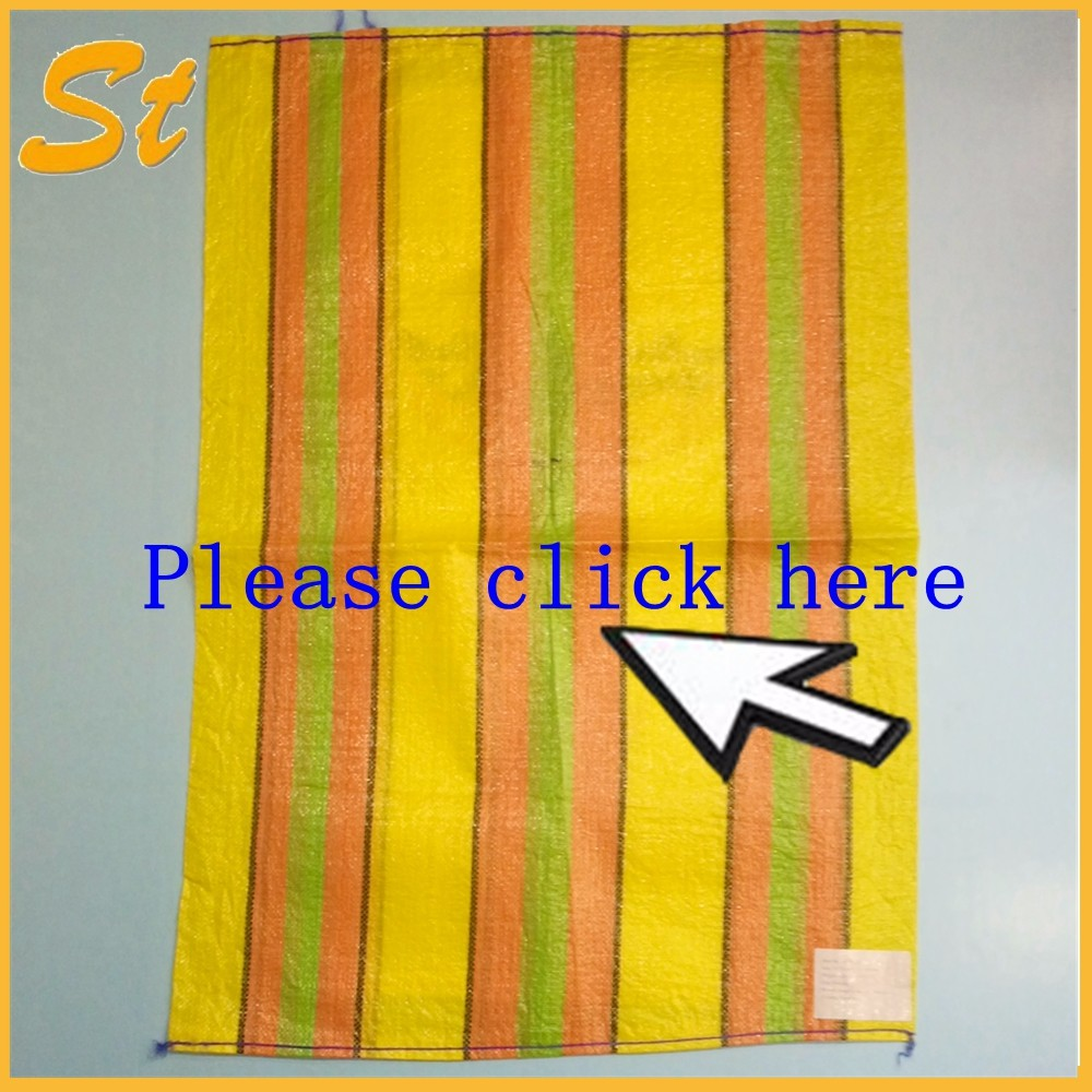 China supplier pp woven 50Kg raffia bag for corn
