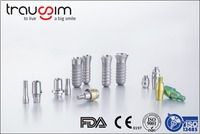Titanium dental implants supplies