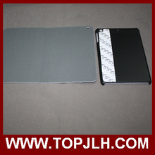 Sublimation Leather Stand Flip Case for iPad Air 2 with oil-spray coated PC inner