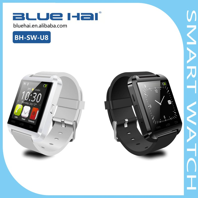 U8 Women Mens Bluetooth Smart Watch HD Touch Screen Android Wrist Watch with SIM
