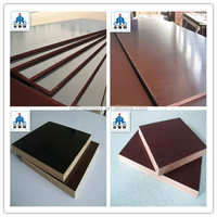 High quality WBP glue black and brown film faced plywood