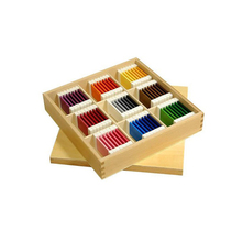 Montessori Material,Wooden montessori toys in china - Color Tablets , Montessori sensorial