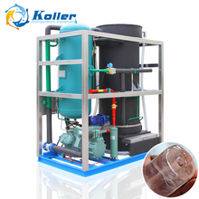 Koller Hot sale 5tons cylinder tube ice machine with high capacity for ice plant TV50