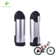 10S4P Downtube Type Water Bottle Battery 36V 13.6Ah Li-ion Battery Pack For Electric Bike