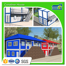 low cost prefabricated glass eps sandwich panel modular Trade Assurance 20ft container homes