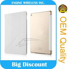 High quality pu leather case case for ipad 4