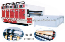 ISO corrugated cardboard printer slotter with chain feeder
