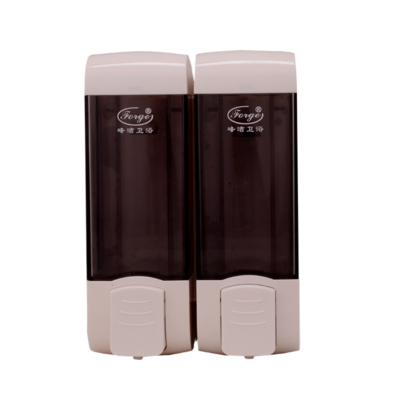 Commercial Grade Wall-Mounted Double Soap Dispensers