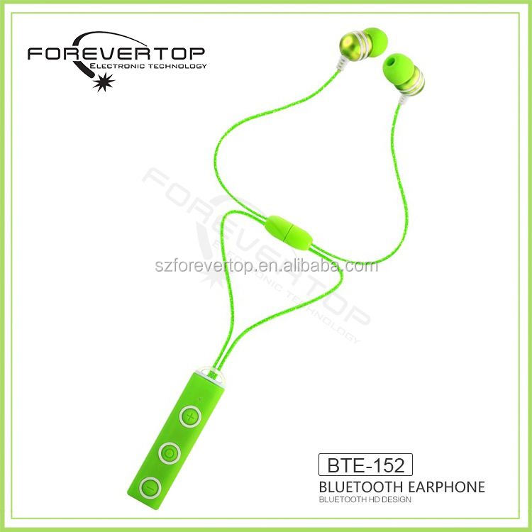 5 years rich OEM experience style fashion resistant bluetooth earphones oem factory