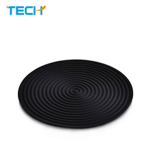 Food grade eco-friendly mutiuseful healthy silicone rubber coaster silicone table cup mat,silicone baking pot pad