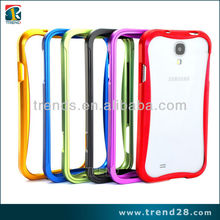 Newest aluminum cell phone bumper case for galaxy s4