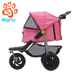 Easy Folding High Quality Luxury Comfortable Child Toy Oxford Pet Stroller Carrier