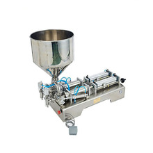 fully automatic piston type bottle liquid filling machine for vegetable oil
