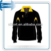 2013 spring Quarter-zip long sleeve polo shirts (SSI-9)