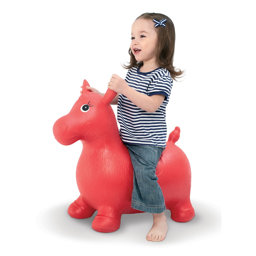 Children's inflatable toys baby kids/riding animal toys PVC Inflatable jumping animal/pony horse