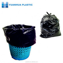 Star-sealed plastic garbage bags on roll with factory price