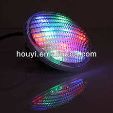 houyi glass 18x3W underwater led lights swim spa/pond/fountain par56 3500lm ip68 water jet pool