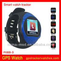 Hot selling !! gps tracker watch phone wrist watch gps tracking device for kids