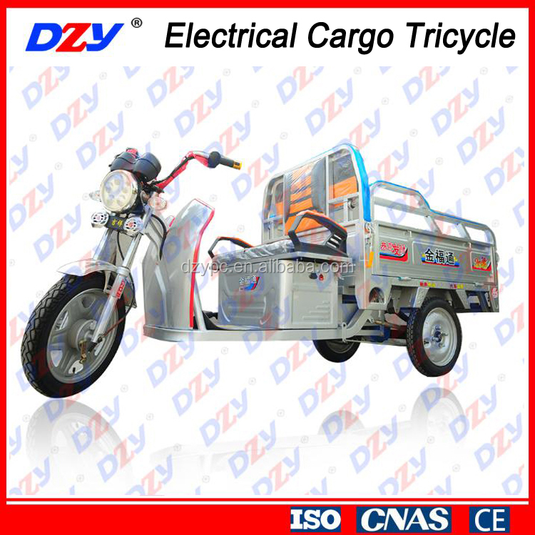 High Torque Heavy Load Electrical Cargo Tricycle