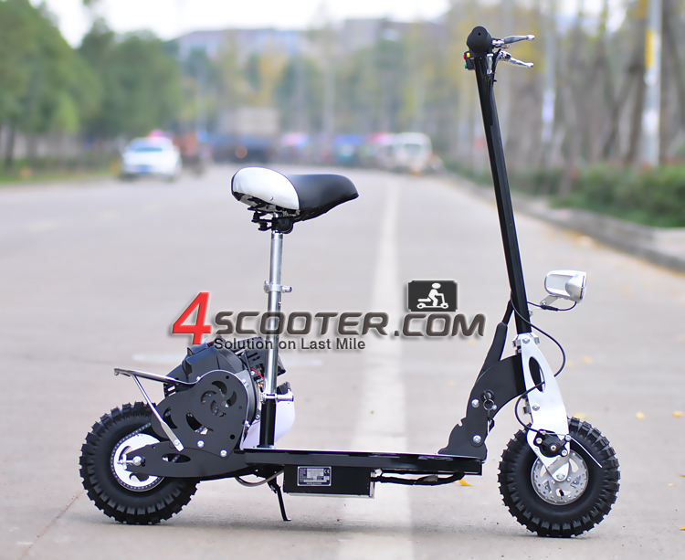 Zhejiang Mademoto 2-Speed Mini Folding 49cc Cheap Gas Scooter for Sale