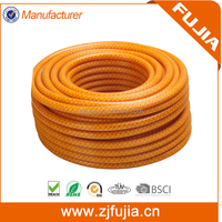 Fiber Braided Reinforce Colored High Pressure Korea Plastic PVC Agricultural Water Spray Hose
