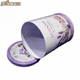 Purple cup shape tin cheap metal decorative packaging boxes
