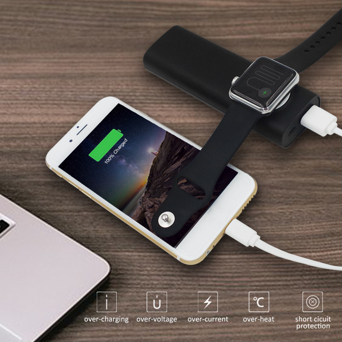 5V/ 1A 5000mAh phone charging stations for iphone charger for watch chargers