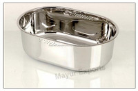 stainless steel oval bath tub