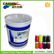 Pigment Color Concentrates for raincoat stain