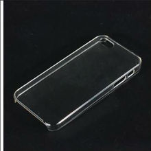New Arrival Transparency Clear Crystal Hard Plastic Back Cover Case for Apple iPhone 5 5G