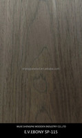 best price ebony timber wood face veneer for floor,door,decorative furniture sheet